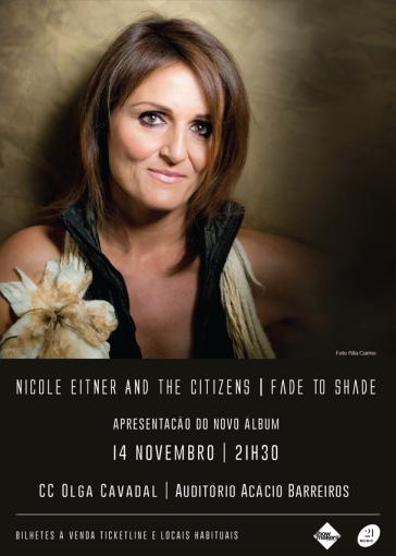 Concerto Nicole Eitner and The Citizens - Centro Cultural Olga Cadaval 14 Novembro 2015