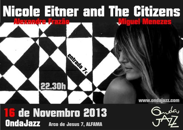 16 de Novembro no OndaJazz em Lisboa