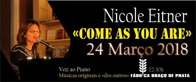 24 março come as you are